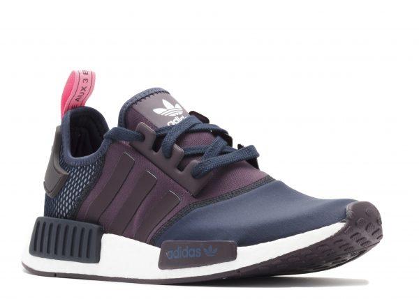 sale retailer 9836b 3ea6f Adidas NMD R1 W Navy/ Pink s75232