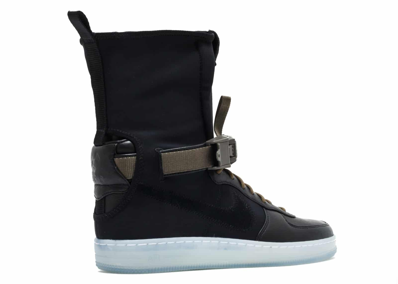 Nike Air Force 1 Downtown Acronym Black White