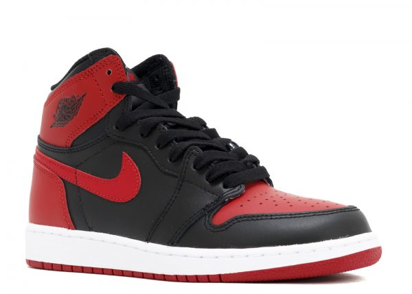 sports shoes dce2f d1ed0 Air Jordan 1 Retro High OG GS 'Banned' 'Bred' 2016 release 575441 001