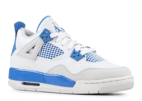size 40 23353 8d291 Air Jordan 4 Retro GS 'Military Blue' 408452 105