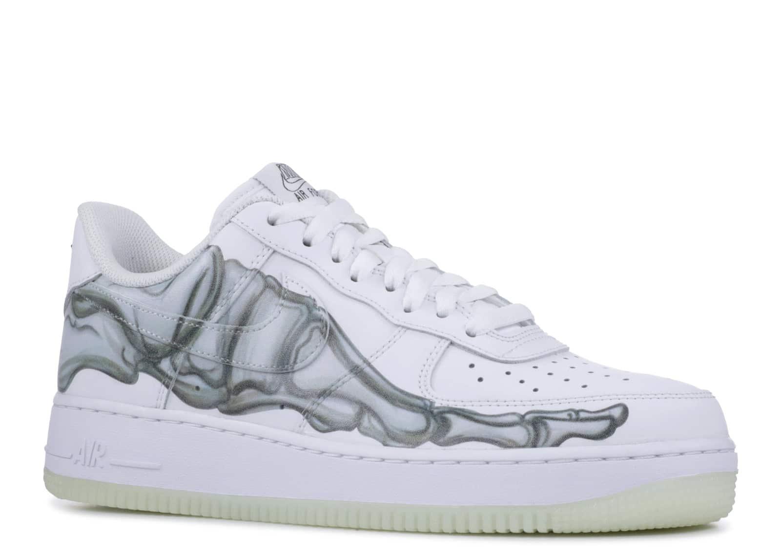 Nike Air Force 1 Low Skeleton Halloween (2018) kickstw