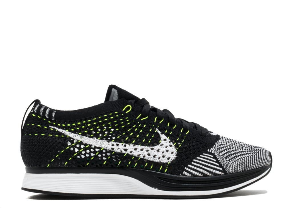 dd565c2627363 Nike Flyknit Racer Black  White  Noir  Blanc 526628 011 - kickstw