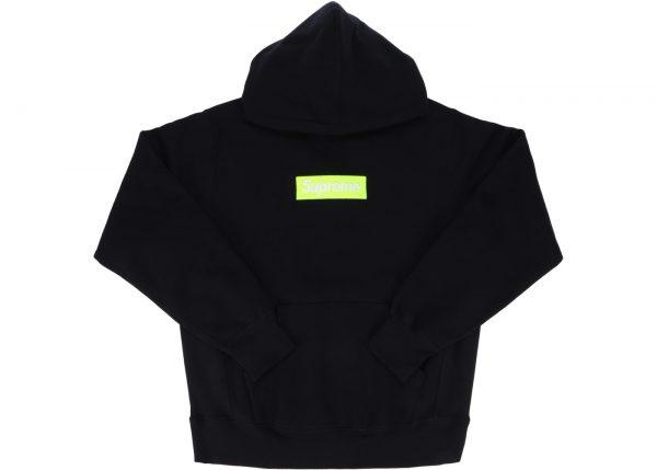 8deb8cc6a074 Supreme Box Logo Hoodie FW17 Black - kickstw