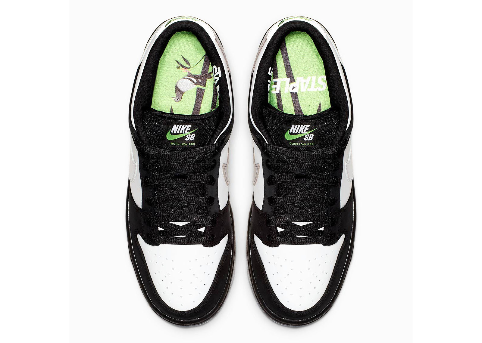 reasonable price most popular how to buy Nike SB Dunk Low Staple Panda Pigeon