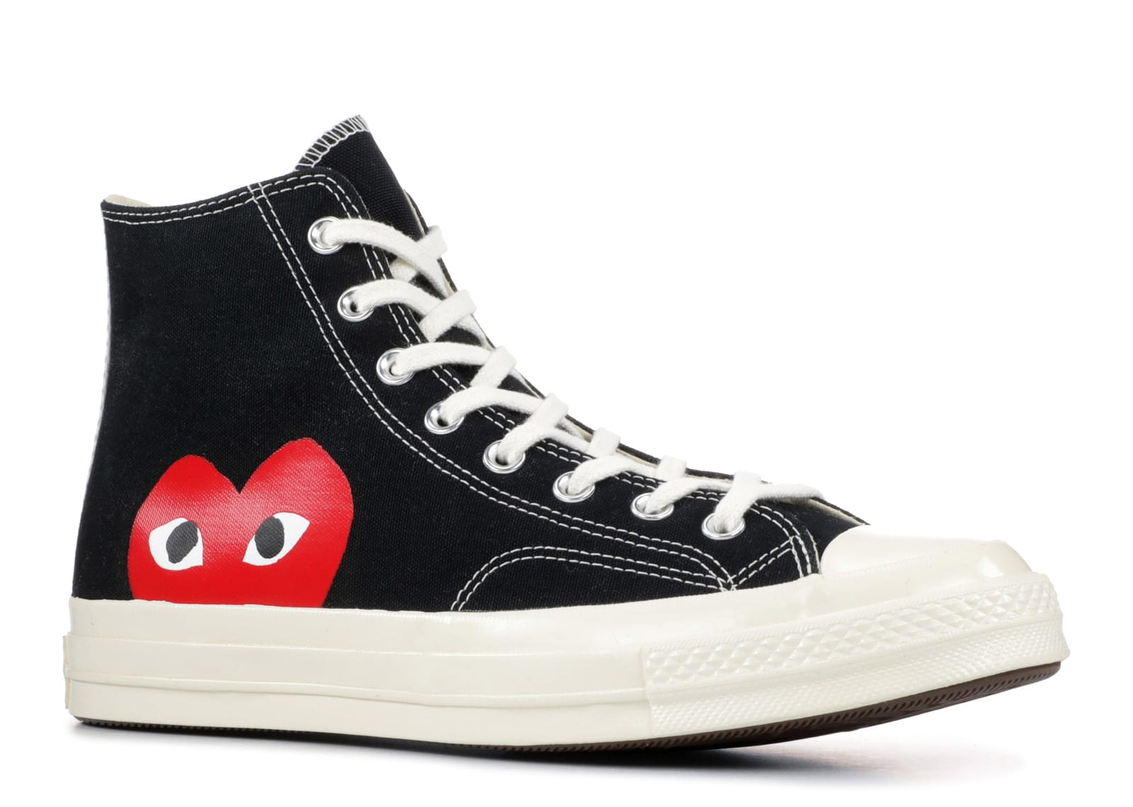 Comme des Garcons PLAY x Converse Chuck Taylor Black High