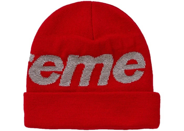 d1aabdb597967 ... Supreme Big Logo Beanie (FW18) Red. Filter. Previous