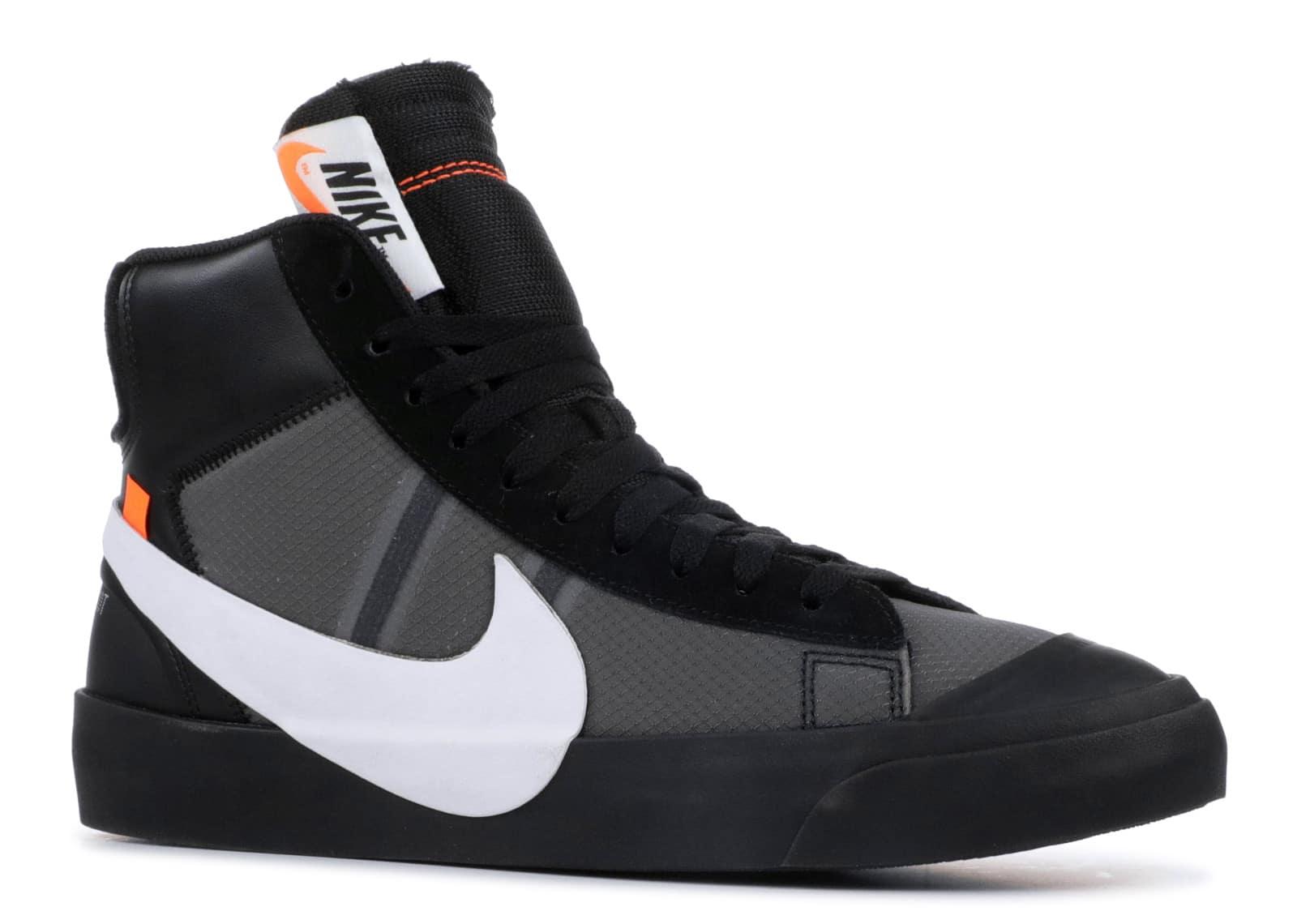 Off White Nike Blazer Mid Grim Reaper - kickstw