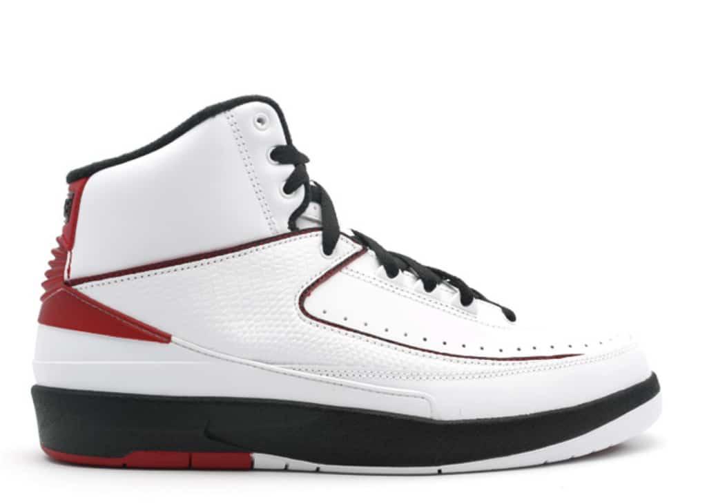 reputable site 35ca1 5bc3a Air Jordan 2 Retro White Varsity Red (2004)
