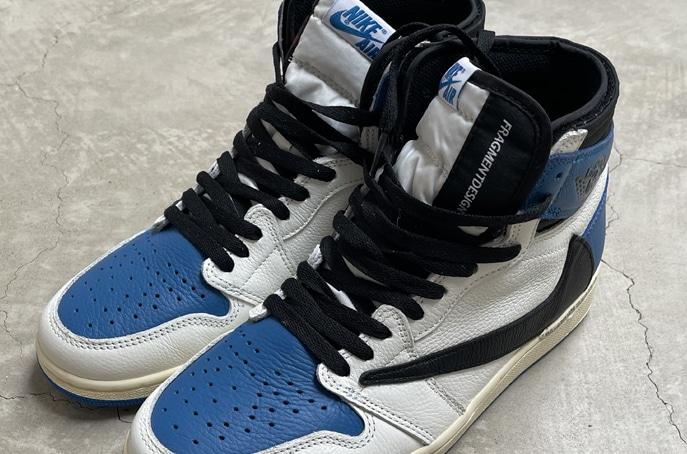 Travis Scott x Fragment x Air Jordan 1s